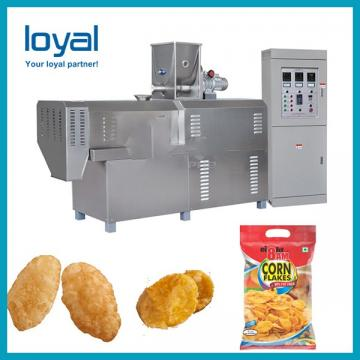 High quality low price Extruder sweet corn flakes/breakfast cereals snack food machine/production plant