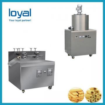 Sweet corn snack twin screw extruder puffed food snacks machine for making puff rice
