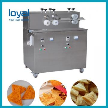 Corn Chips Bugles Snack Food Production Line Energy Saving Easy Opperation