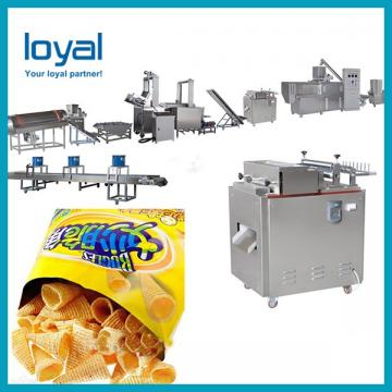 Automatic and Popular Corn Bugles Snack Chips Processing Line for Small Scale Business