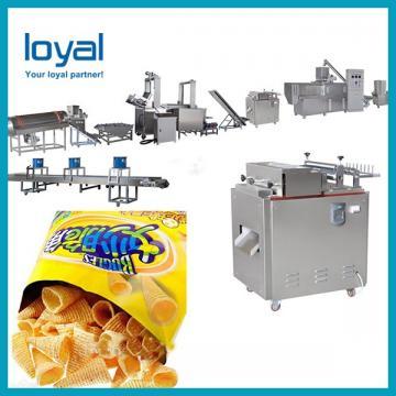Tapas Snacks Bugles Corn Chips Processing Fryer Machine Line