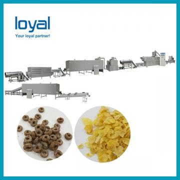 Corn flakes making machine / corn extruder machine / cereal food production equipment